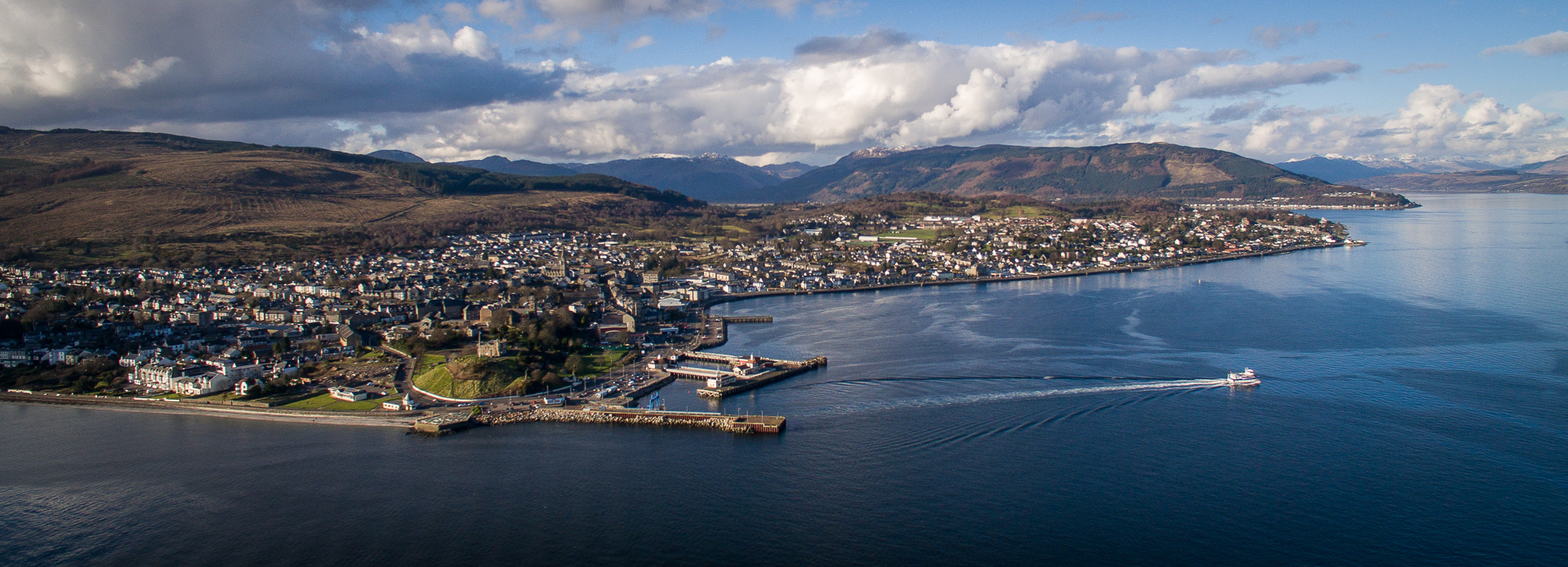 Dunoon From The Air