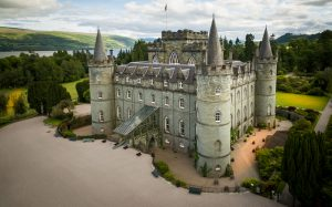 Inveraray Castle Aerial