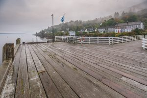 View From Blairmore Pier