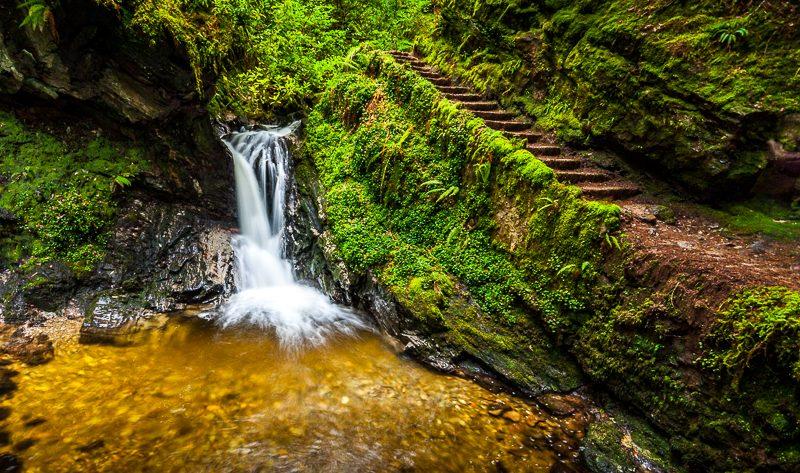 Pucks Glen Waterfall